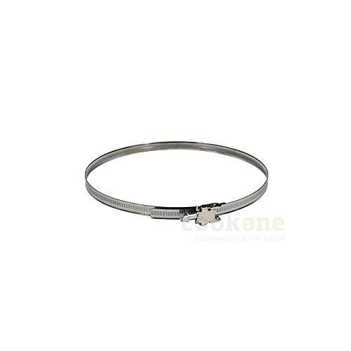 EASYTEC® Schlauchschelle | Ø 140-160 mm Durchmesser | Universal mit Schnellverschluss z.B. 160 mm 150 mm 140 mm