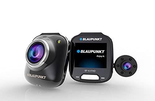 Blaupunk BP 4.0 FHD | Dashcam mit Abnehmbarer Innenraum-Kamera | Full HD, 2.0″ IPS Display, G-Sensor, Bewegungserkennung, Parküberwachung, Loop-Recording