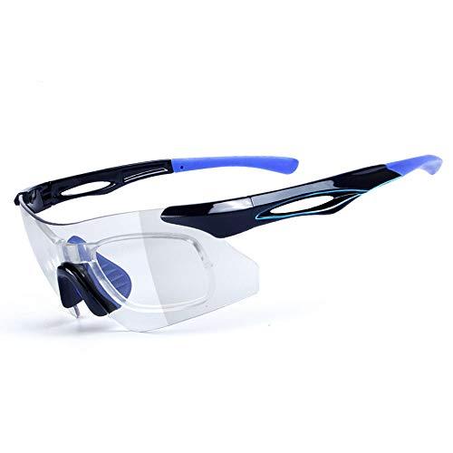 Zjcpow Gafas de Sol Deportivas Ciclismo Gafas para Correr Especialista en Gafas de Sol Deportivas Diseño Superlight Frame para Hombre y Mujer 7 Colorse Actividades al Aire Libre (Color : White Red)