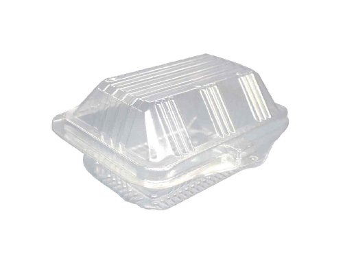 Amazing Deal Choice-Pac L1P-1152L Polyethylene Terephthalate Tri Top Deep Herb Rectangular Clamshell...