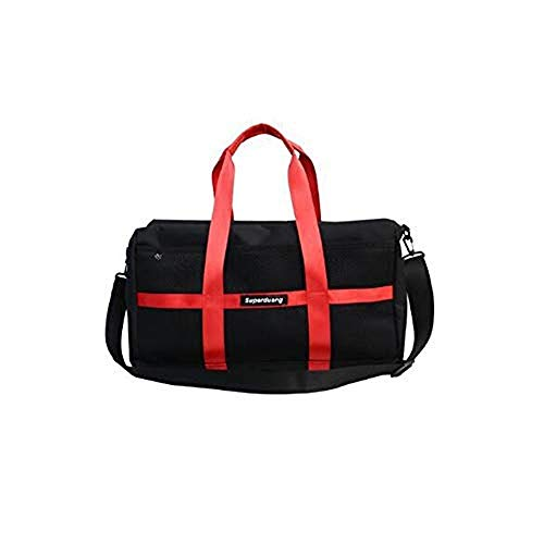 Fashion Single Shoulder Bag Simple Slant Handbag Large Capacity Nylon Travel Bag Fitness BagBarrel Bag (C)