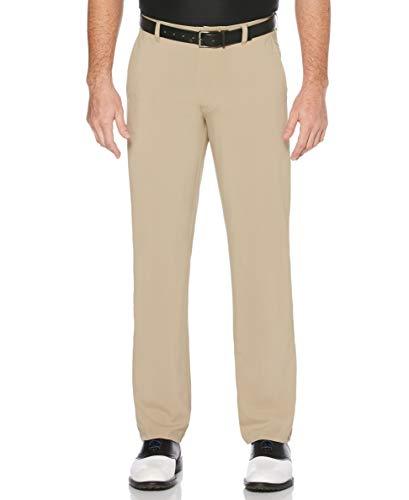 Jack Nicklaus Herren Flat Front Active Flex Pant Golfhose, Chinchilla, 34W / 34L