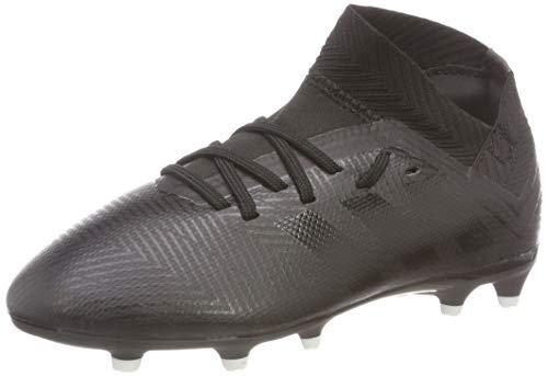 adidas Nemeziz 18.3 FG, Zapatillas de Fútbol para Niños, Negro (Core Black/Core Black/Footwear White 0), 36 2/3 EU