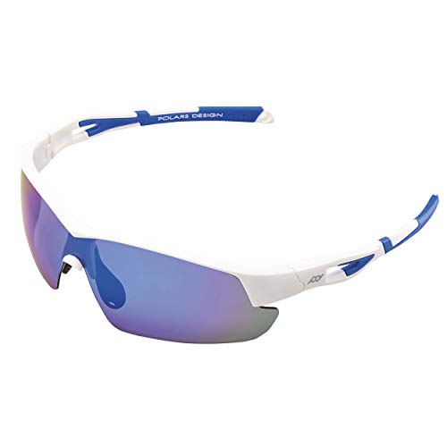 Polarized Designer Eyewear Unisex Style Men and Women's Sports Sunglasses UV Protection for Outdoor Sports Fishing, Running, Baseball, Cycling, Golf Driving Made with EMS-TR90 Frame with UV400 Coating