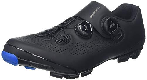 Shimano SH M MTB XC7 N.44, Zapatillas de Ciclismo de Carretera Hombre, Negro (Negro 000), 44 EU
