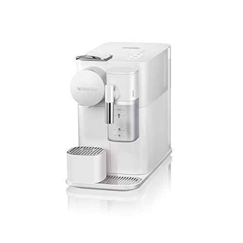 De'Longhi Lattissima One Evo, Single Serve Capsule Coffee Machine, Automatic frothed Milk, Cappuccino and Latte, EN510.W, 1450W, White