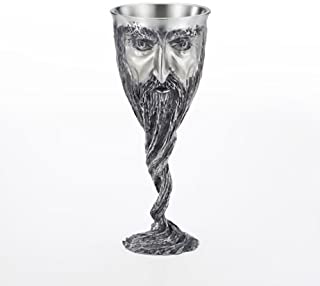 Royal Selangor Hand Finished Sculptors Dream-LORD OF THE RINGS Collection Pewter GANDALF Goblet