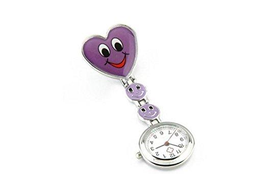 Small Dimple Medical Nurse Watch Pocket Clock for Hospital Doctors Nursing 1pc