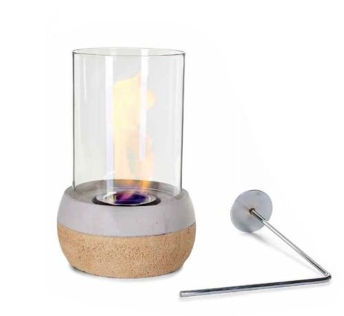 Glasfeuer Korki Tischkamin Feuerstelle Kamin Tischfeuer Bio Ethanol