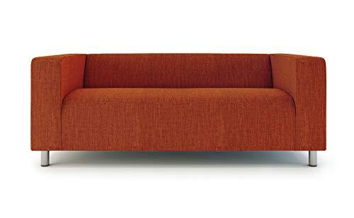Klippan - Funda de sofá para sofá IKEA de 2 plazas Klippan Loveseat de poliéster, color naranja