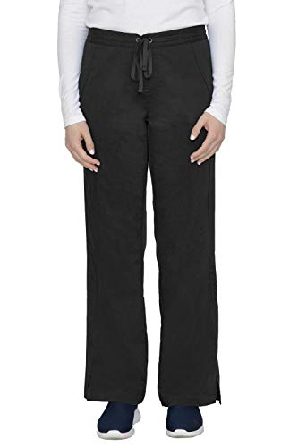 healing-hands-Purple-Label-Womens-Taylor-9095-2-Pocket-Drawstring-Scrub-Pant-Scrubs-Black-MP