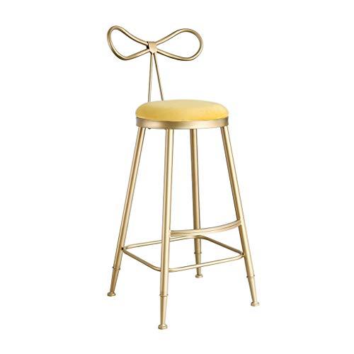 JHSLXD Staafstoel-creatieveld, barkruk, gouden hoog, kruk, vlinderstoel, kapcommode, make-upstoel, decoratie, meubels