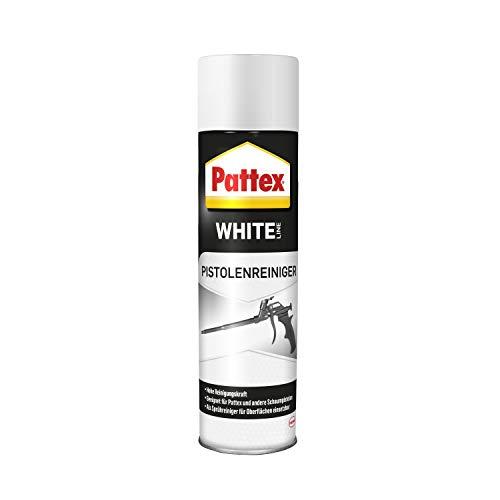 Pattex White Line Pistolenreiniger, Sprühflasche zur effektiven Reinigung von frischem bzw. unausgehärtetem PU Schaum, Drucksprüher für Schaumpistolen & Oberflächen, 1x500ml