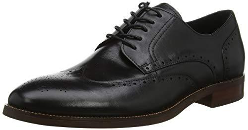 ALDO Thirellan, Zapatos de Cordones Oxford Hombre, Negro (Black 001), 42 EU