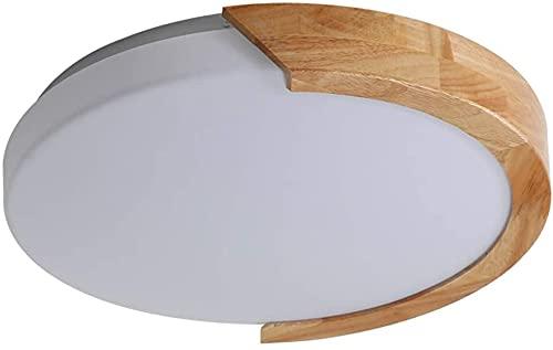 Luz de techo LED CAZÓN COCINA COCINA Lámpara de techo ajustable de madera, Nordic Modern Acrílico Luces de techo redondas Comedor Sala de estar Dormitorio Interior Luz de techo (Color : B)
