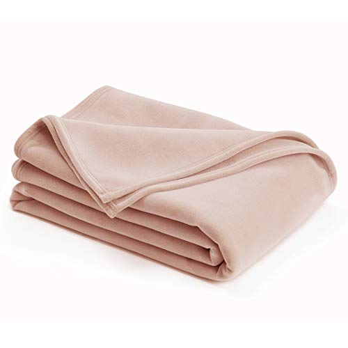 Vellux Original Blanket, Full/Queen 90 x 90, Blush
