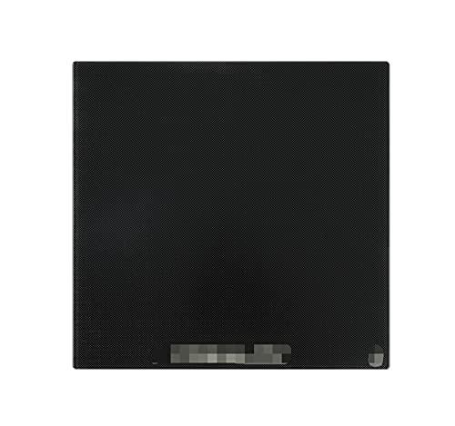 WANGYOU Ajuste para Ender-3 Ender-3PRO Ender-5 Placa de Vidrio Templado de Hotbed Plata de Cristal 3D Plataforma de Cristal calentada Cama de Vidrio Surface Impresora 3D Pieza Lasting