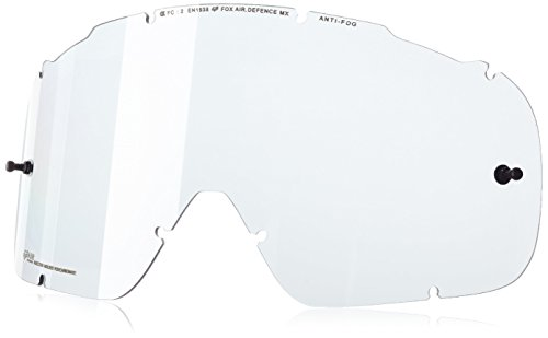 Fox Ersatzglas Air Defence Replacement Lens SPK, Race Yellow/Clear, One size, 14607-903