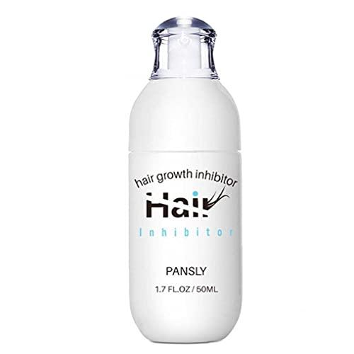 La eliminación Pansly Cabello eliminación Crema depilatoria Inhibidor de Aceite Permanente axila para el Cuerpo Pelo de la Cara de la Mujer Las niñas 50ML
