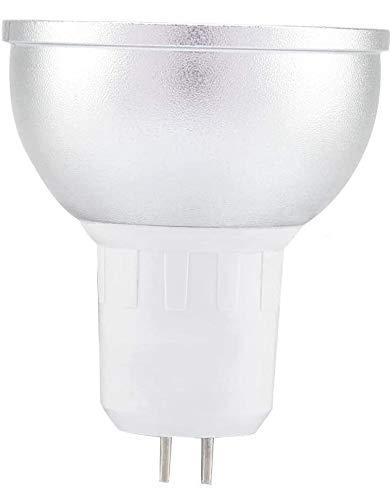 Haofy LED-Glühbirne 6W WiFi-Lampenbecher RGBW 16 Millionen farbig dimmbare LED-Lichthalter Kompatibel mit Alexa Google Home(RGBW GU5.3)