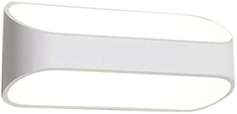 QZz Home Moderne Aluminium-Wandleuchte Kreative Schlafzimmer Lamp Hotel Zimmer Badezimmer Flur Eingang Treppe Spiegel-Front-Lampen (gre   5w25cm)