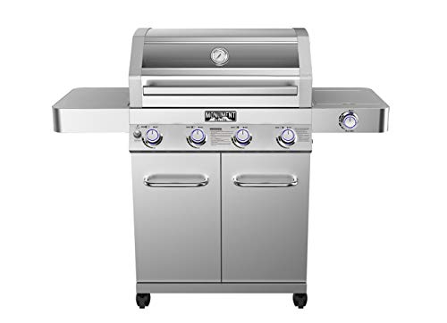 Monument Grills 4 Burner Natural Gas Grill
