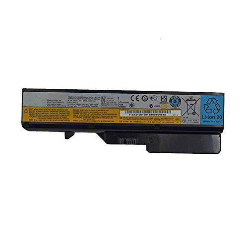 7XINbox 10.8V 48Wh 4400mAh L09C6Y02 L09S6Y02 L10C6Y02 Replacement Laptop Battery for Lenovo Ideapad G460 G470 G475 G560 B570 V360 V470 V570 Z460 Z465 Z470 Z560