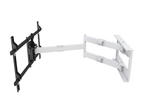 MULTIBRACKETS - Universal Long Reach Single White - Soporte TV de Pared con Brazo. Separación de la Pared: 101,0 cms. VESA 200 x 200 hasta 800 x 400.Blanco.