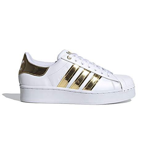 adidas Superstar Bold MT W - Zapatillas deportivas para mujer, color blanco, Mujer, FV3340, blanco, 40 EU