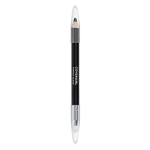 COVERGIRL Perfect Blend Eyeliner Pencil, Basic Black, Eyeliner Pencil with Blending Tip For Precise or Smudged Look, 1 Count
