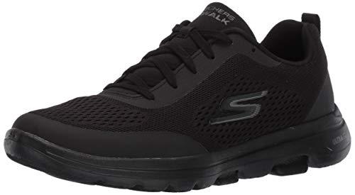 Skechers Women's GO Walk 5 Trainers, Black (Black Textile/Trim BBK), 3 (36 EU)