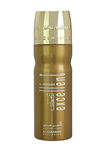 Al Haramain Perfumes Excellent Gold Deodorant Body Spray