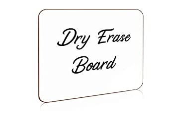 Scribbledo Small Dry Erase White Board Board 9 x 12 Inch Lapboard l Durable Portable Whiteboard for Kids Students Classroom Home Office Work and for Paper and Pen Games  Blank