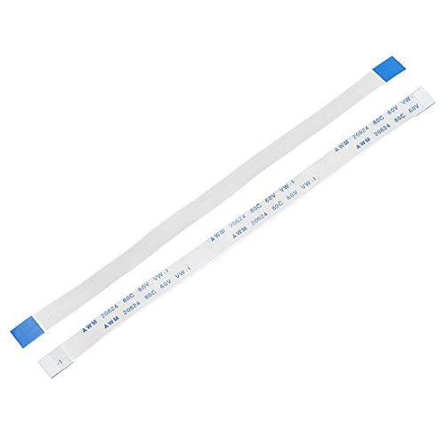 YeVhear - Cable plano flexible de 13 pines de 0,5 mm, 150 mm, FPC FFC, cable de cinta flexible para TV LCD, reproductor de DVD, audio de coche, portátil, 5 unidades (tipo A)