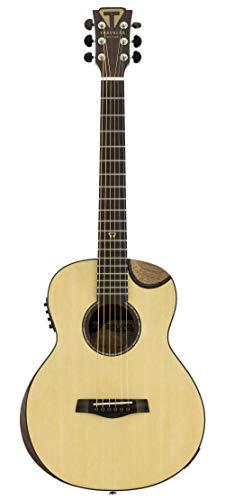 Traveler Guitar Redlands Concert 6 String Acoustic-Electric Guitar, Right, Spruce (RC SE)