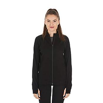 Minus33 Merino Wool 8030 Wilderness Women s Expedition Full Zip Black Medium
