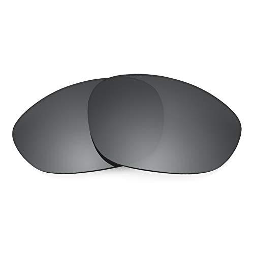 Revant Ersatzgläser für Oakley X Metal XX, Polarisiert, Schwarz Chrome MirrorShield