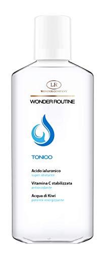 TONICO Wonder Routine con Acido Ialuronico, Vitamina C stabilizzata e Acqua di Kiwi, 200 ml - LR Wonder Company