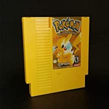 73 Pins 8 bit Game Cartridge - Pokemon Pocket Monsters - Yellow Battery Save