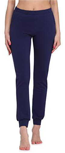 Merry Style Damen Lange Hose MS10-304(Marineblau, L)