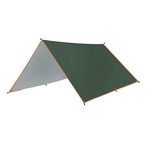 perfeclan Patio Al Aire Libre Impermeable Hamaca Refugio Tienda de Campaña Parasol Toldo con Toldo - 3x4m