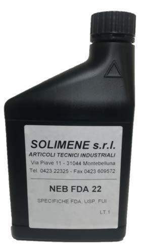 Aceite vaselina nebulizador FU22 FDA USP alimentario enológico farmacéutico 1 L