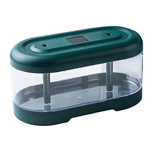 MagiDeal Humidificador de Escritorio portátil 2L humidificador de Niebla fría con Carga USB pequeños humidificadores personales 2 Modos Spray de Doble Cabeza, Tipo de batería de Litio