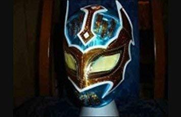 MÁSCARA DE LUCHA LIBRE DE SIN CARA DE LA WWE DISFRAZ TRAJE DE LUCHADOR MEXICANO PARA NIÑOS COMPLETAMENTE NUEVO COLOR AZUL