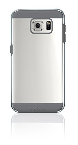 Blackrock Air Cover per Samsung Galaxy S6 con Anti-Shock Guard Technology, Grigio/Trasparente