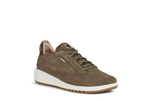 Geox Mujer Zapatos con Cordones AERANTIS, señora Zapatos Deportivos con Cordones,Calzado,Calzado de...