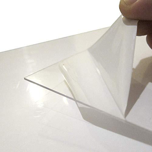 DRM Packs. Policarbonato Compacto. 1mm. Incoloro. UV Protegido. Elige tu Pack a Medida: (2050 x 1250 mm // 1 Placa)