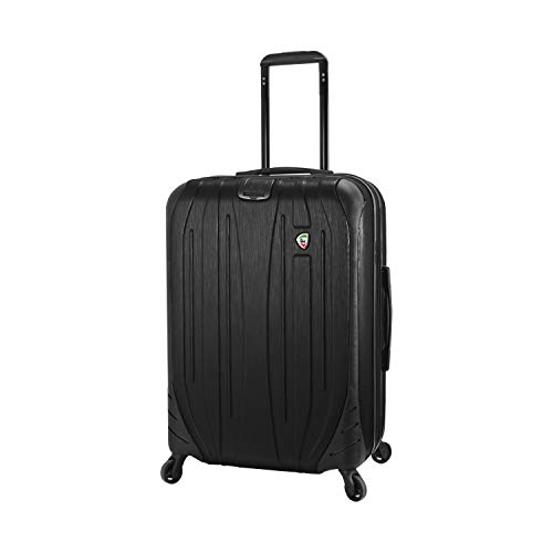 Mia Toro Italy Ferro Hard Side 29' Spinner Luggage, GRAPHITE, One Size