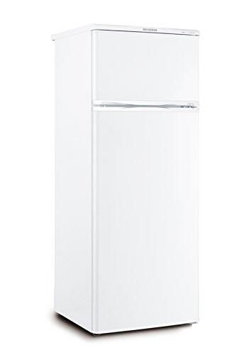 SEVERIN Doppeltür-Kühl-/Gefrierschrank, 166 L/46 L, Energieeffizienzklasse A++, KS 9792, weiß