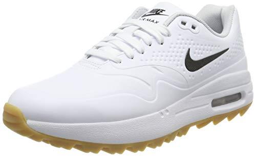 Nike Air MAX 1 G, Zapatillas de Golf para Mujer, Blanco (Blanco 100), 39 EU